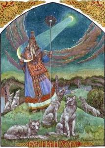 Хорс - місяцеликий бог