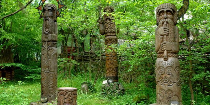 Слов'янський язичницький пантеон. Володимирові (київські) боги. Перун