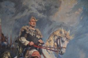 Князь Святослав (942 - 972 рр.),  художник Владимир Киреев