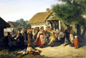 Констянтин Трутовський. Переселенці Курської губернії