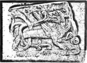 Симаргл на Чернігівському рельєфі, Х - ХІ ст., Борисоглібський собор