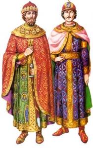 Княхзівське вбрання часів феодальної роздробленості