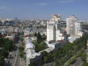 Місто Київ, бульвар Тараса Шевченка.