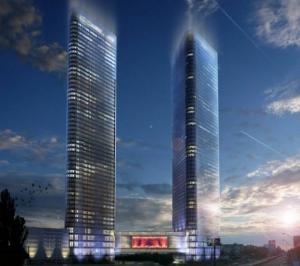 """Проект """"Victory Towers"""", житлово-офісний, торгово-розважальний комплекс."""