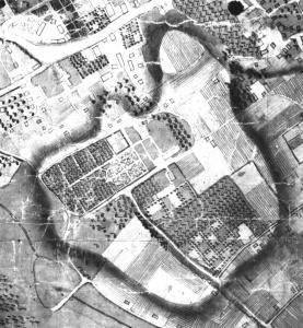 Узгір'я Цитаделі на плані Львова 1766 р.