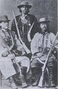 Гуцули. Фото початку XX ст.
