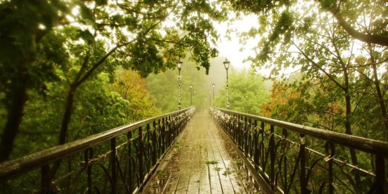 Чортів міст. Парковий міст. Міст Божевільних. Міст закоханих