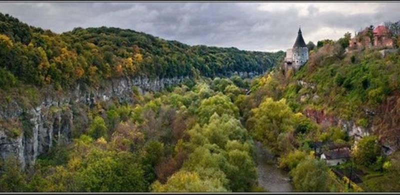 Смотрицький каньйон у Кам'янці-Подільському