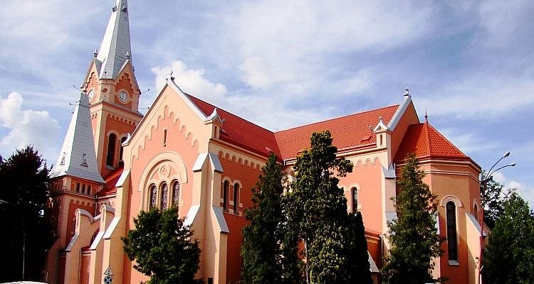 Костьол Святого Мартина в Мукачево
