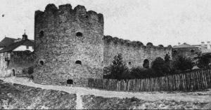 Буданівський замок. Фото, зроблене до 1914 р.