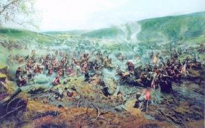 Панорама Корсунської битви