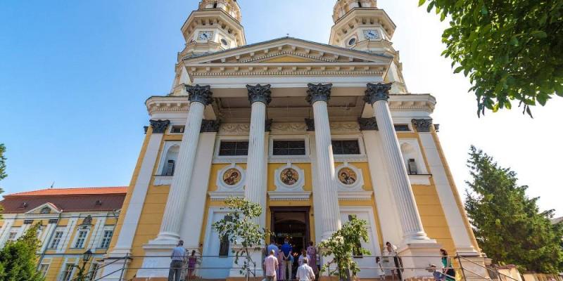 Хрестовоздвиженський кафедральний собор в м. Ужгород
