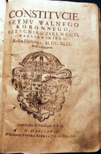 Конституція Пилипа Орлика, латиномовна копія