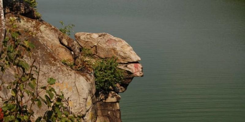 Скеля голова Чацького в Житомирі