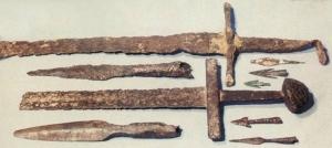 Давньоруські мечі. Археологічні знахідки