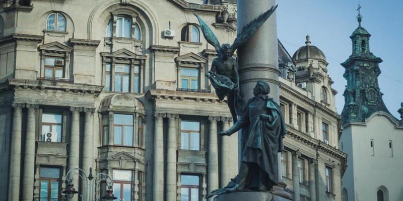 Пам'ятник Адаму Міцкевичу у Львові
