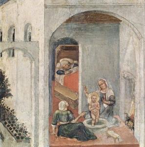 Джентіле да Фабріано. Народження Святого Миколая. 1425 р.