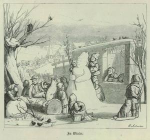 """Ілюстрація до німецької книги """"Світ у мініатюрі"""", 1867 р."""