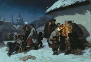 Трутовський К. А. Колядки в Малоросії.
