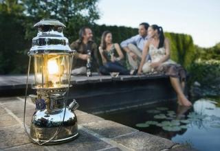 Як працює керосинова лампа?