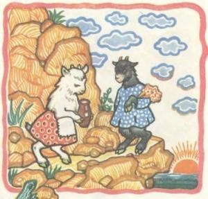 Казка «Дві  кізоньки»