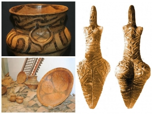 Мальвана кераміка. Статутетка жіки. Трипільська культура