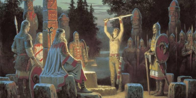 Загадки давніх язичницьких храмів (перша частина)