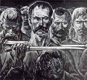 Коліївщина. Освячення ножів