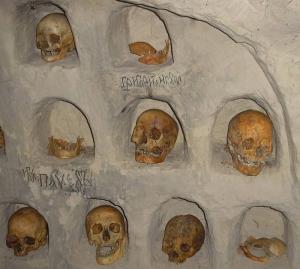 Поховання в Ближніх печерах