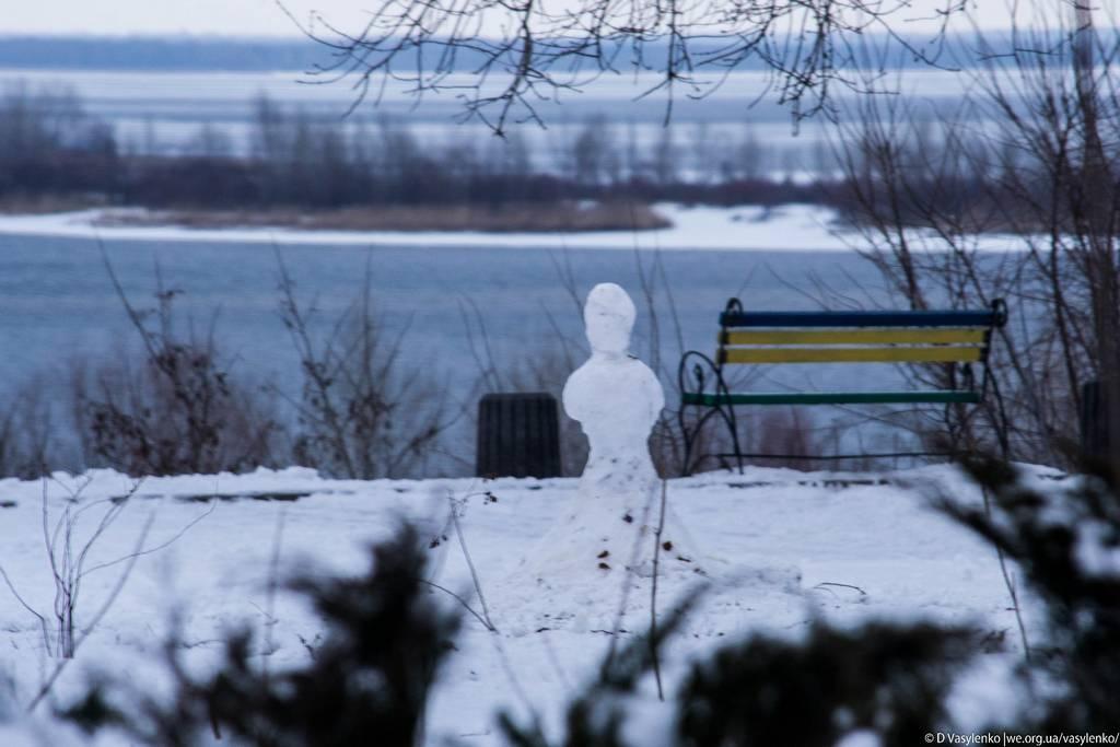 Черкаський сніговичок