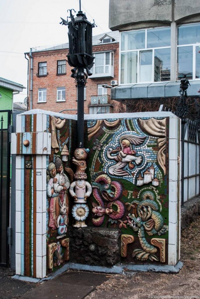 Забор театру ляльок