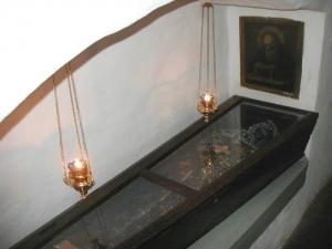 Поховання Преподобного Онисифора Києво-Печерського