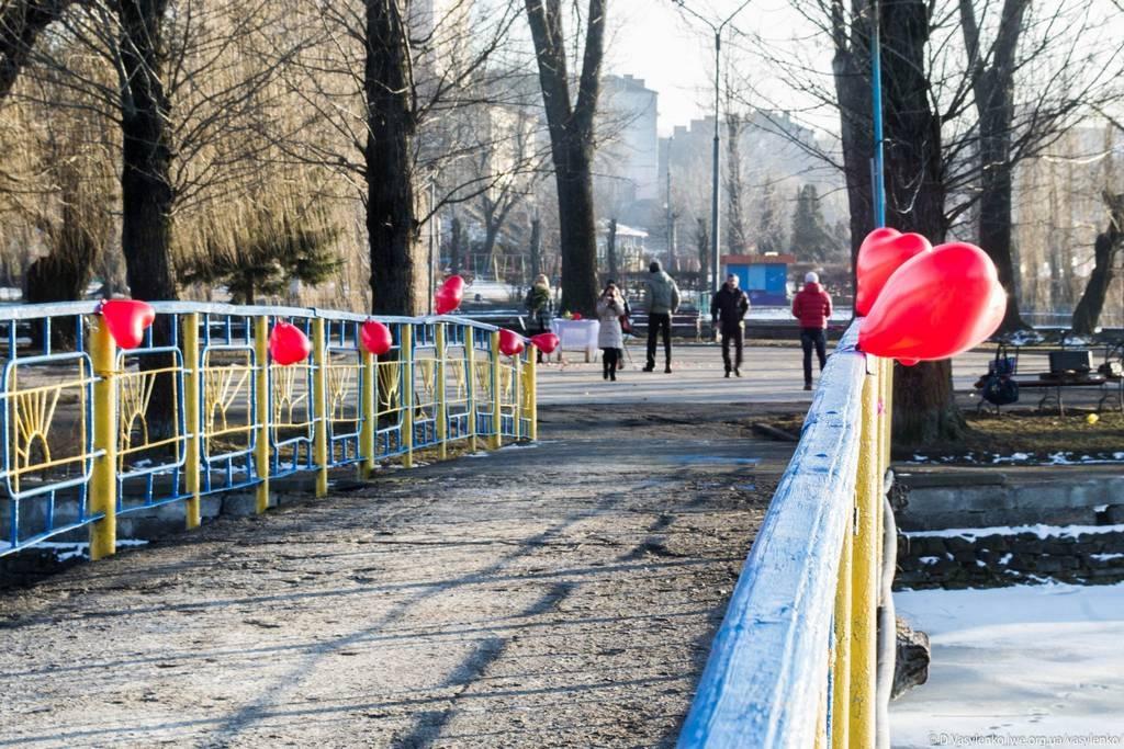 Міст у парку Шевченко