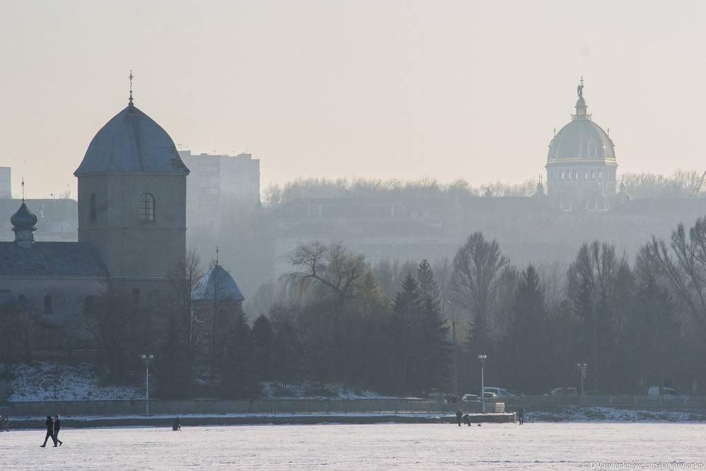 Туман над Воздвиженською Церквою