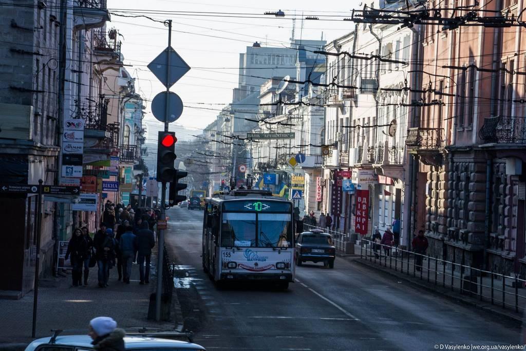 Тернопільські вулиці