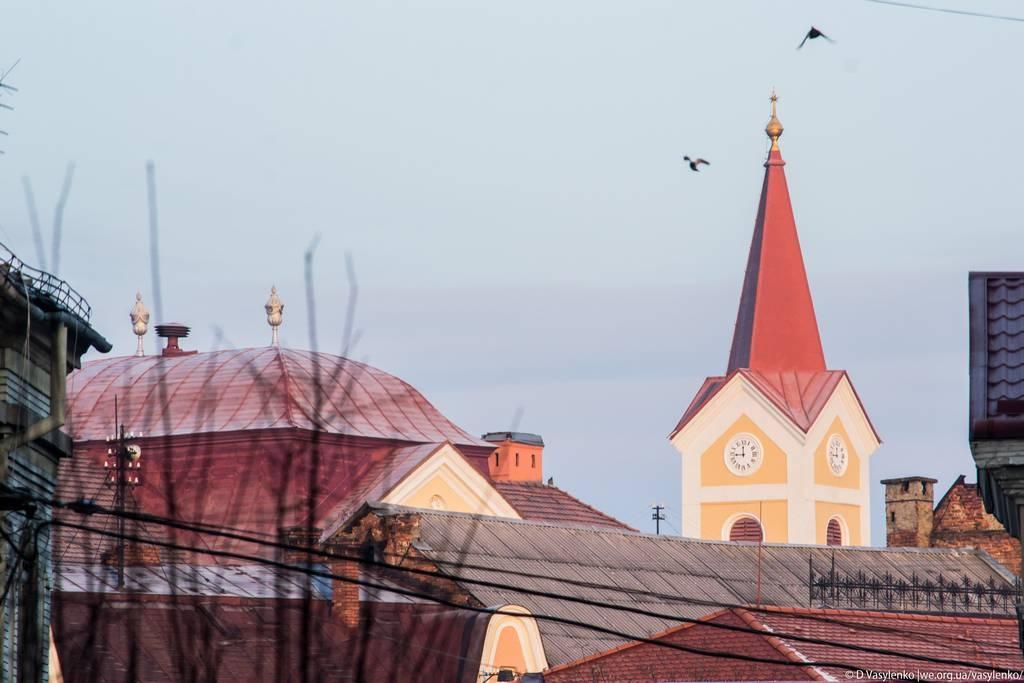 Над дахами Ужгорода