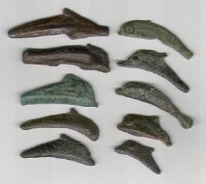 Монети-дельфіни, м. Ольвія