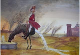 Пам'ятник-фонтан барону Мюнхгаузену