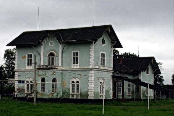Палац Шимоновичів у Дубівцях