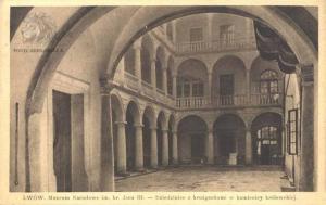 Стара листівка, присвячена Італійському дворику