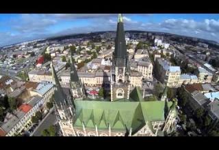 [Відео] Львів з висоти пташиного польоту