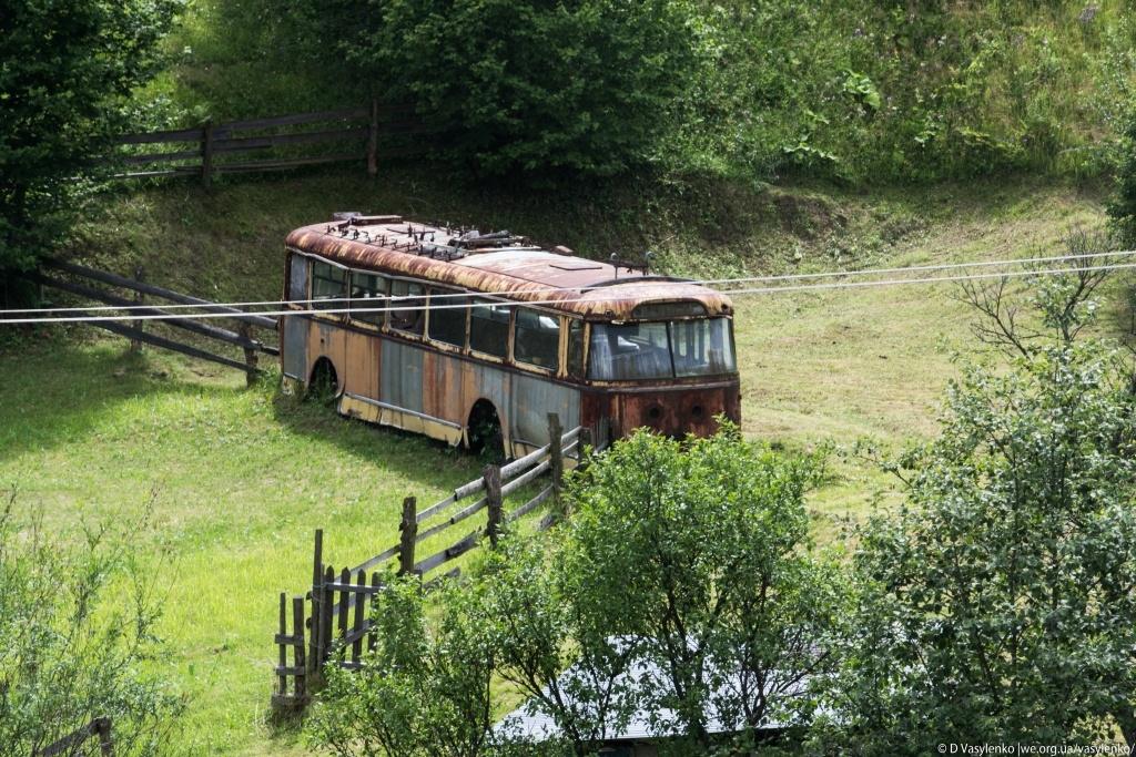 Тролейбус Синевир