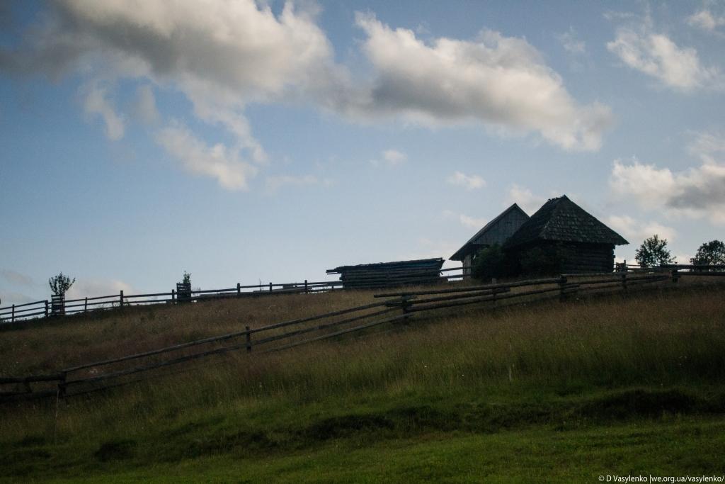Пейзажі Синевирської поляни