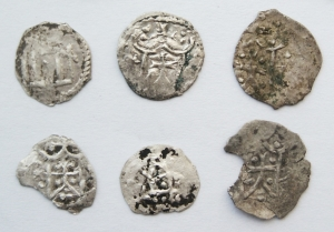 Монети, карбовані Володимиром Ольгердовичем