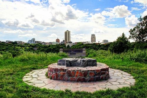Капище рідновірів на Замковій горі