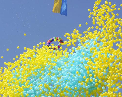Вітаємо з Днем незалежності України!