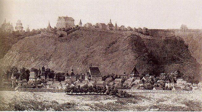 Замок на Старокиївській горі та його занепад