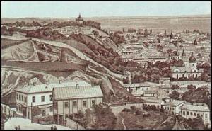 Замкова гора, м. Київ, ХVІІ ст.