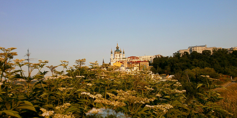 Замкова гора Києва: Кладовище замість фортеці