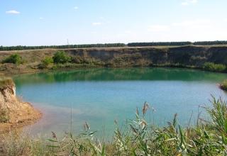 Справжнє солоне озеро в Харківській області!